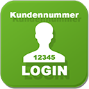 Login mit Kundennummer / Login with Customer Number