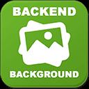 Shopware Backend Logo Hintergrund / Background Image